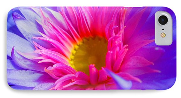 Water Lily Vibrant IPhone Case by Angela Murray