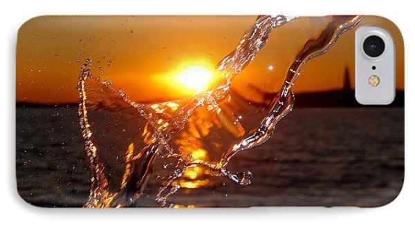 Water Mark IPhone Case by Donnie Freeman