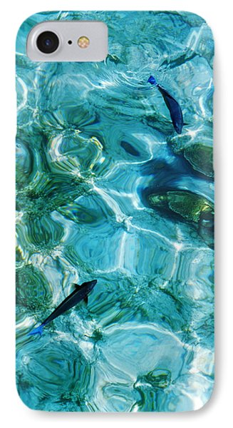 Water Meditation II. Five Elements. Healing With Feng Shui And Color Therapy In Interior Design IPhone Case by Jenny Rainbow