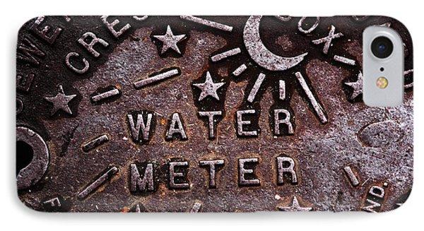 Water Meter Phone Case by John Rizzuto
