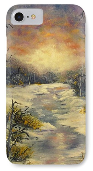 IPhone Case featuring the painting Water Music  by Megan Walsh