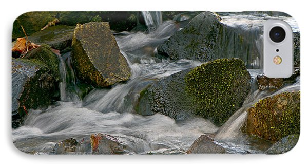 Water Over Rocks IPhone Case by Sharon Talson