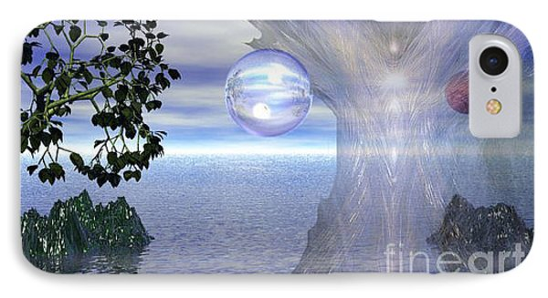 IPhone Case featuring the digital art Water Protection by Kim Prowse