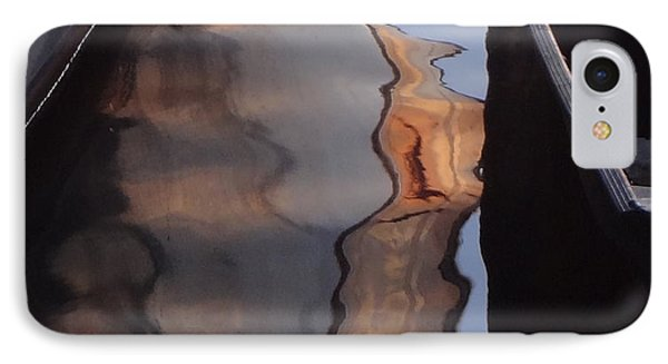 Water Reflections Abstract IPhone Case by Carol Berning