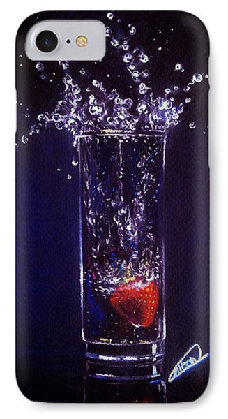 Water Splash Reflection IPhone Case