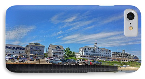 Water Street Block Island IPhone Case by Todd Breitling