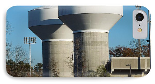 Water Tanks IPhone Case by Pete Trenholm