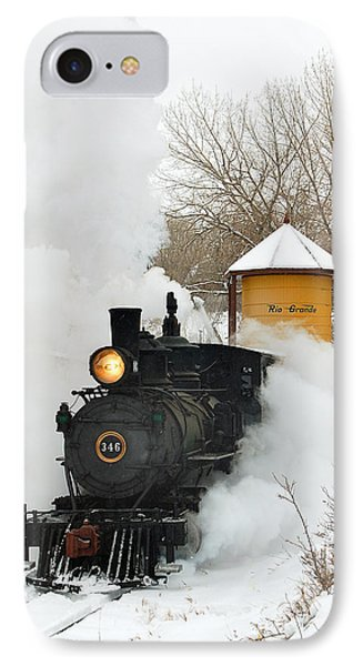 Water Tower Behind The Steam IPhone 7 Case