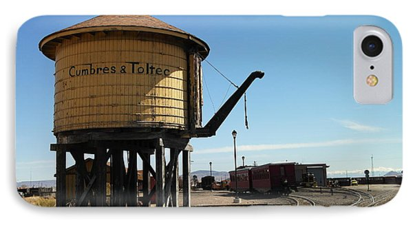 Water Tower Phone Case by Jeff Swan