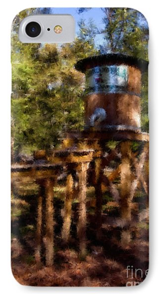 Water Tower IPhone Case by Ken Frischkorn