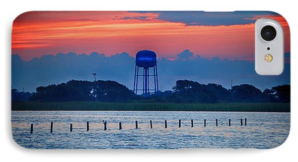 Water Tower IPhone Case by Michael Thomas
