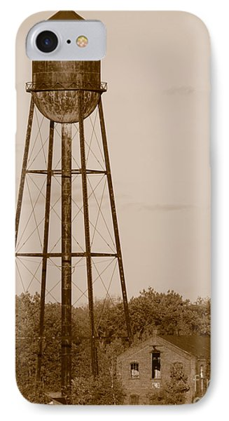 Water Tower Phone Case by Olivier Le Queinec