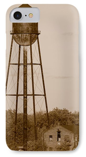 Water Tower IPhone Case by Olivier Le Queinec