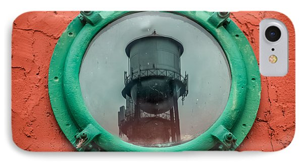 Water Tower Reflection Phone Case by Paul Freidlund