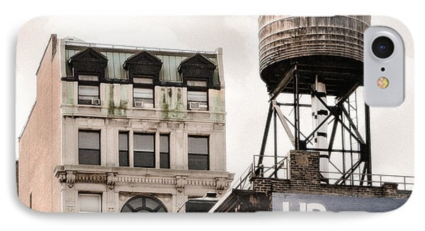 Water Towers 14 - New York City Phone Case by Gary Heller