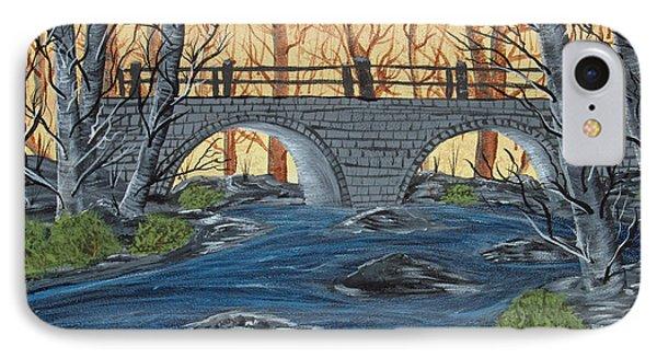 Water Under The Bridge Phone Case by Brenda Brown