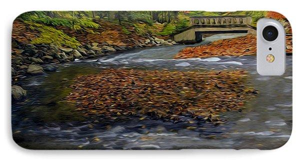 Water Under The Bridge IPhone Case by Susan Candelario