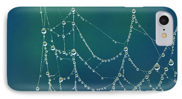 Water Web IPhone Case by Beverly Stapleton