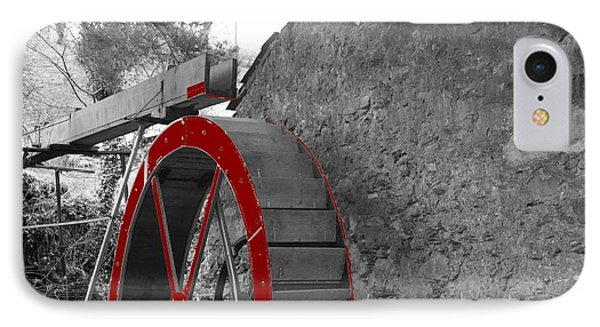 Water Wheel.  IPhone Case by Christopher Rowlands