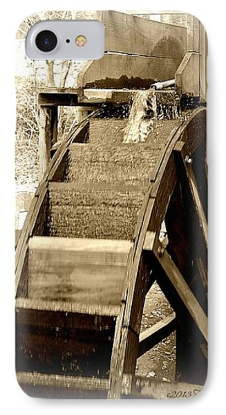 IPhone Case featuring the photograph Water Wheel by Tara Potts