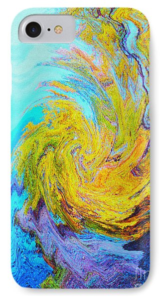 Water Whirl IPhone Case by Ann Johndro-Collins