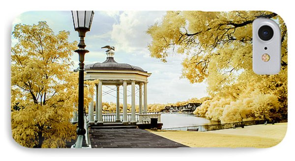 Water Works And Boathouse Row IPhone Case