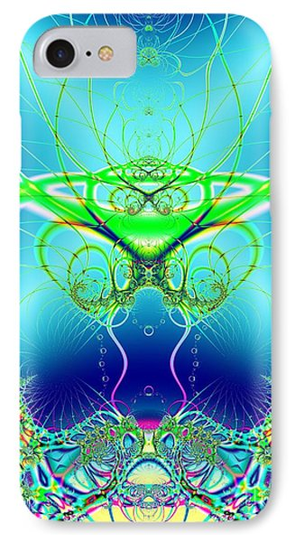 Water World Fractal IPhone Case