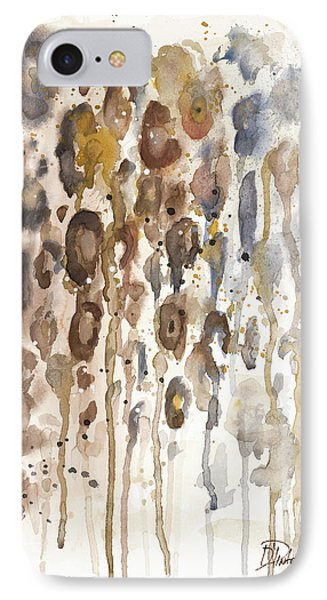 Watercolor Animal Skin I IPhone Case by Patricia Pinto