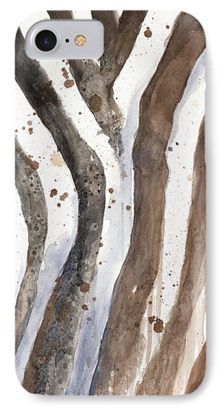 Watercolor Animal Skin II IPhone Case by Patricia Pinto