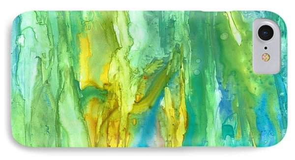 Watercolor Cascade Phone Case by Rosie Brown