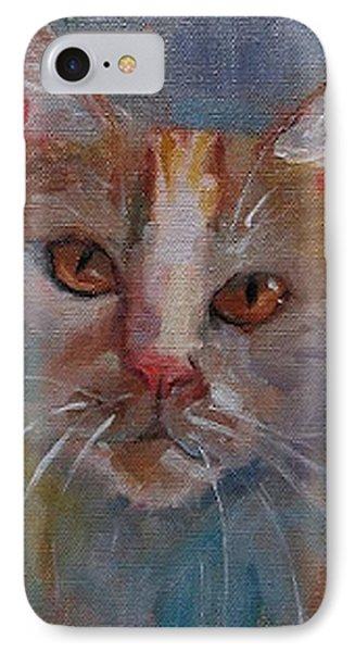 Watercolor Cat IPhone Case by Eva Marie Tanner-Klaas