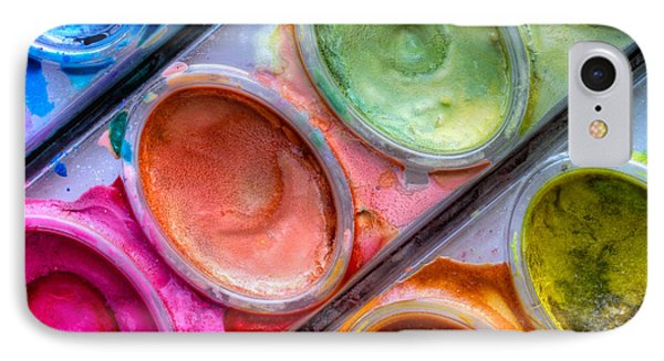 Watercolor Ovals One IPhone Case by Heidi Smith