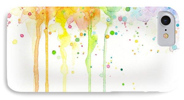 Watercolor Rainbow IPhone Case