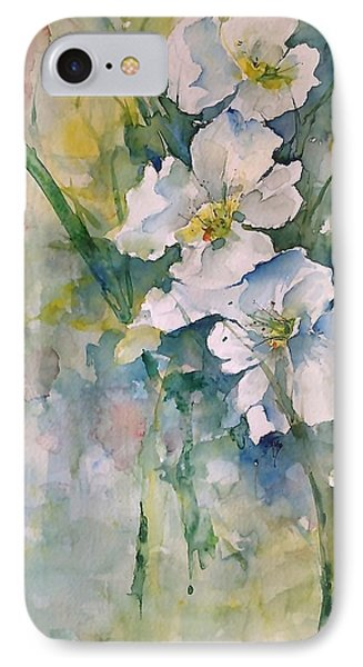 Watercolor Wild Flowers IPhone Case by Robin Miller-Bookhout