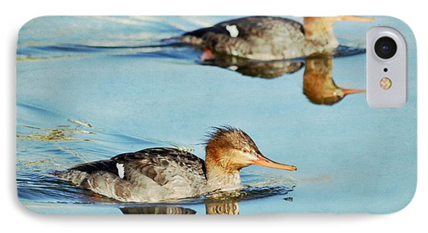 Watercolors In Nature 4 Phone Case by Fraida Gutovich