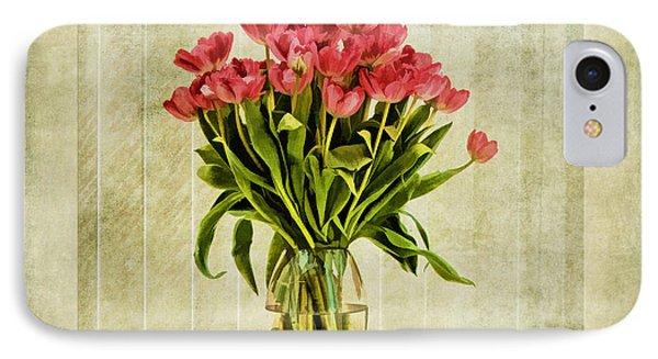 Watercolour Tulips Phone Case by John Edwards