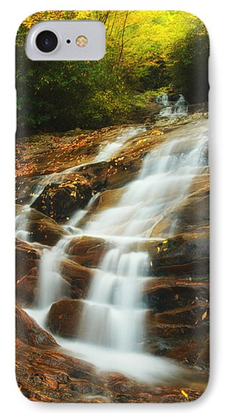 IPhone Case featuring the photograph Waterfall @ Sams Branch by Photography  By Sai