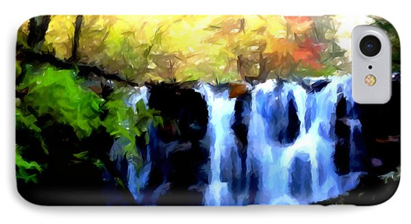 Waterfall 1 Phone Case by Lanjee Chee
