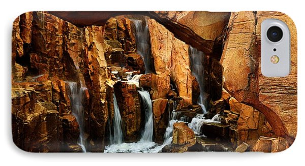 Waterfall 3 IPhone Case by Richard Zentner