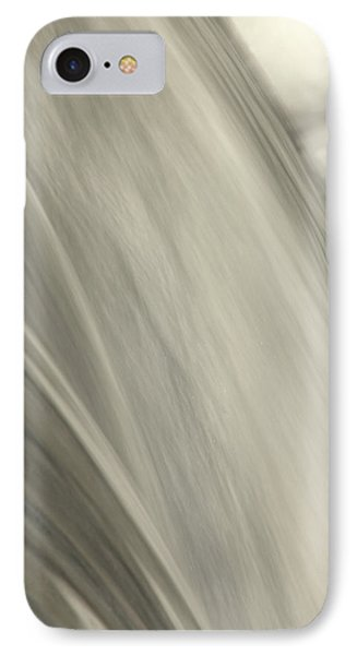 Waterfall Abstract Phone Case by Karol Livote