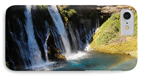 IPhone Case featuring the photograph Waterfall And Rainbow 4 by Debra Thompson
