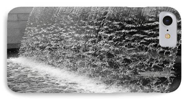 IPhone Case featuring the photograph Waterfall At Cityhall by Dorin Adrian Berbier