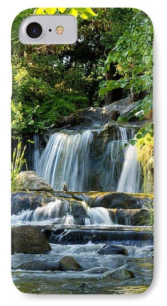 Waterfall At Lake Katherine IPhone Case