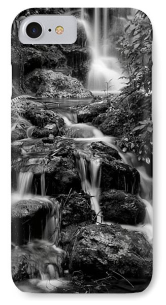Waterfall At Rainbow Springs IPhone Case by Beverly Stapleton