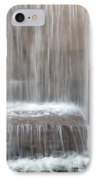 Waterfall At The Fdr Memorial In Washington Dc IPhone Case