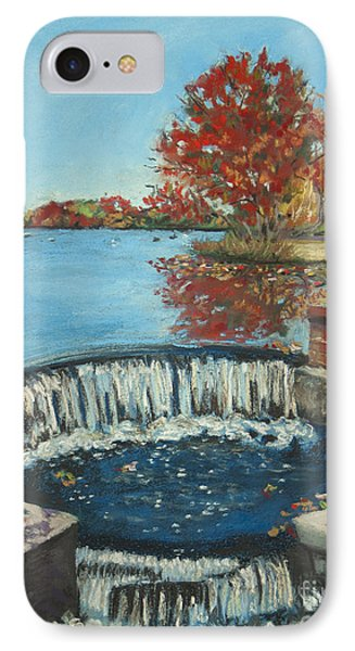 Waterfall Brookwood Hall IPhone Case