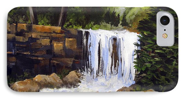 Waterfall IPhone Case by Carol Hart