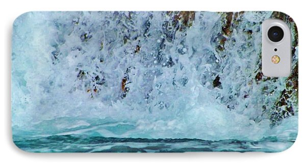IPhone Case featuring the photograph Waterfall Closeup by Brigitte Emme