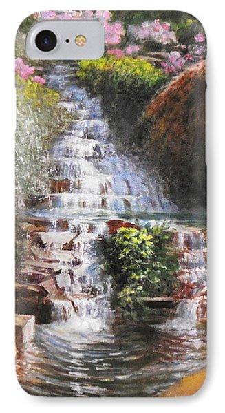 Waterfall Garden IPhone Case