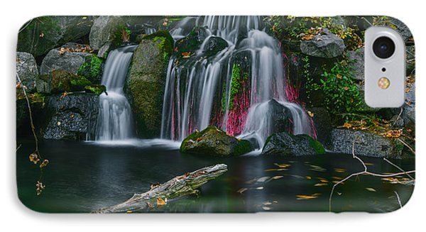 Waterfall In Boise IPhone Case by Vishwanath Bhat